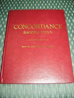 Tagalog Bible Concordance of the New Testament / Burgundy Hardcover / Bagong Tipan / Batay sa Magandang Balita Biblia / Philippine
