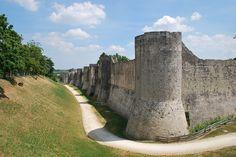 Les remparts de Provins, Seine-et-Marne