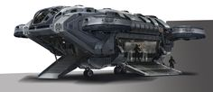 concept ships: Avengers: Age of Ultron concept art by Stephen Martiniere