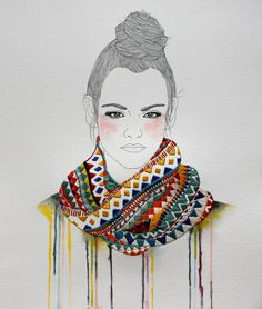 Contemporary embroidery reflects the craft's rich past, with many artists using ancient approaches to express themselves, their environment, or even commercially—embroidery in illustration is gaining quickly popularity.