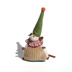 Your place to buy and sell all things handmade Clown Hat, Felt Ball, Green And Orange, Grosgrain, Rat, Wool Felt, Plant Based, Animal, Christmas Ornaments