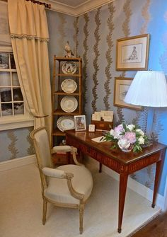Jane Ellsworth vignette for Rooms with a View 2014 designer showhouse