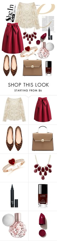 """""""Shein-contest"""" by malica ❤ liked on Polyvore featuring Charlotte Russe, Chanel, NARS Cosmetics, women's clothing, women, female, woman, misses, juniors and shein"""