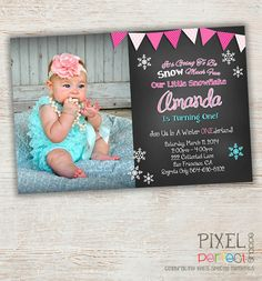 Hey, I found this really awesome Etsy listing at http://www.etsy.com/listing/176083655/winter-onederland-birthday-invitation