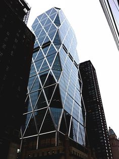 Architecture at Hearst Tower  (Twitter photo by @alexandrabloom)