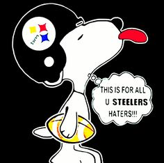 Pitsburgh Steelers, Pittsburgh Steelers Logo, Pittsburgh Sports, Awesome Art, Cool Art, Christmas Ideas, Christmas Crafts, Steeler Nation, Snoopy And Woodstock