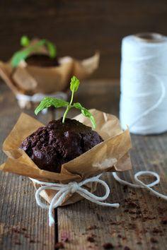 Muffiny Czekoladowo-Miętowe Just My Delicious