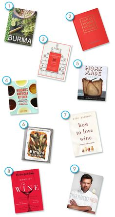 Our Last Cookbook Round-Up for 2012: Holiday Edition: gift ideas for the next year...