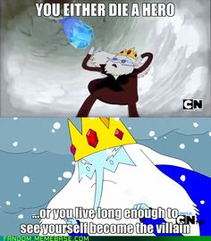 Adventure Time meets The Dark Knight: The Crowned Knight