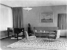 Een origineel jaren 30 interieur