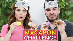 Today I did the Macaron Tasting Challenge with my friend CaptainSparklez! Let me…