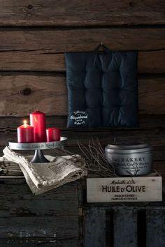 Sneak peak från H&M Home vintern 2014 ‹ Dansk inredning och design Olives, H&m Group, Hm Home, Red Candles, Xmas, Christmas Ideas, France, Design, Nouvel An