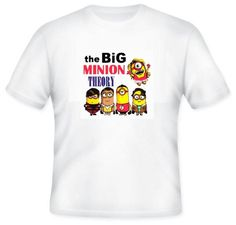 The Big Bang theory despicable me minion soft kitty mix T-shirts first class post uk adults and kids by coolteeshirtsuk on Etsy https://www.etsy.com/uk/listing/275934160/the-big-bang-theory-despicable-me-minion