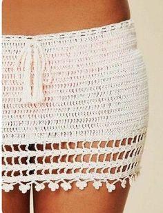 Excited to share this item from my shop: Crochet Mini Skirt , Lace Skirt, Beach Skirt ,Summer Skirt, Festival Clothing . Black Crochet Dress, Crochet Skirts, Crochet Clothes, Crochet Lace, Beach Crochet, Crochet One Piece, Summer Skirts, Mini Skirts, Bikini Crochet