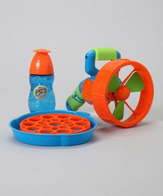 Take a look at this Super Miracle Bubble Turbine Set by Imperial Toy on #zulily today!