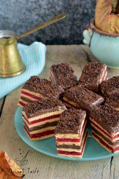 Čoko višnja ili malina štangle - MarinaS Taste Baking Recipes, Cake Recipes, Dessert Recipes, Other Recipes, Sweet Recipes, Kolaci I Torte, Torte Recepti, Croation Recipes, Torte Cake