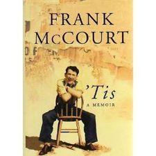 'Tis - Frank McCourt - follows Angelas ashes