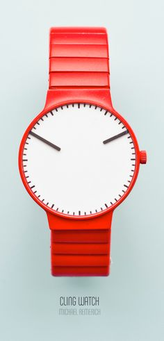 Cling Watch By Michael Remerich #Watch #Design Product Design #productdesign