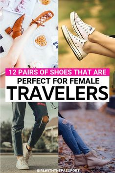 It can be tricky finding stylish walking shoes for travel. That's why I created an expert guide to 12 of the most comfortable yet stylish walking shoes for travel! Stylish Walking Shoes, Best Walking Shoes, Travel Essentials, Travel Tips, Travel Packing, Travel Attire, Travel Destinations, Overseas Travel, Travel Info