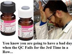QC headaches. Not missing mixing the Biorad controls. Headache of an analyzer. One of the worst.
