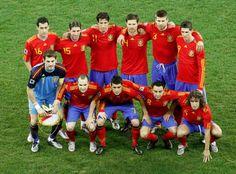 I always cheer for Spain's soccer team!