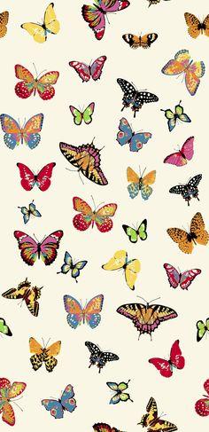 Cloudie Butterflies | Butterfly Wallpaper Iphone, Cartoon