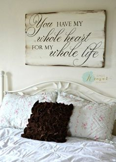 40 Rustic Wood Signs with Inspiring Messages of Hope - BigDIYIdeas.com