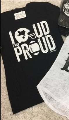 Loud & Proud Football T-Shirt - Shop Gracefully Southern - 2