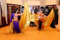 Belly dancers are a nice touch