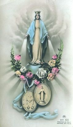 Our Lady of Miraculous Medals. Feast Day Nov 27th