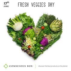 Today is Fresh Veggies Day. Take a vow to eat healthy today (and everyday), with fresh veggies for every meal, and for snack, too. Better still, be a vegetarian for a day. Your body will like it :)