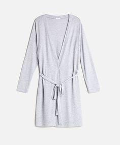 Melanżowy szlafrok z długim rękawem - Zobacz Wszystko - Modowe trendy AW 2016…