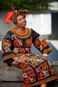 Our Africa Blog - beautiesofafrique: Toghu: traditional attire in...