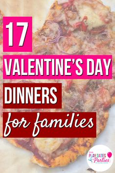 Valentine's Day Dinner Ideas 17 fun recipes for families – Cook It Valentine's Day Food Family Valentines Dinner, Valentines Day Cakes, Valentines For Kids, Valentines Meal, Valentine Games, Valentine Ideas, Dinner Party Menu, Dinner Themes, Dinners For Kids