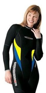 Womens Wetsuits For Swimming | 5mm Henderson Womens Titanium Hyperstretch Full Wetsuit 800... | Shop ...