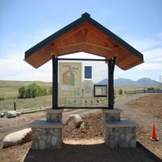 Ribbon Cutting Ceremony for the newly maintained Coalton Trailhead
