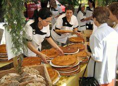 #Fiesta de la #empanada, #Allariz, #Galicia