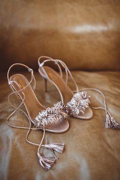 Aquazzura bridal shoes