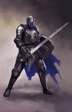 Medieval Knight by jeffchendesigns