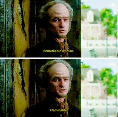 Flammable?! IDEK WHAT TO THINK OF YOU COUNT OLAF!...