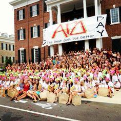 University of Alabama Alpha Gam