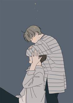 art - The Jikook Appreciation Book Anime Love, Anime Guys, Manga Anime, Anime Art, Fanart Kpop, Chanbaek Fanart, Cute Gay Couples, Anime Couples, Jikook