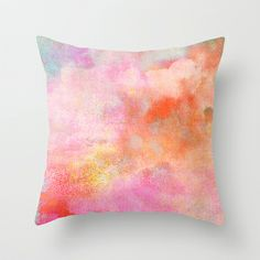 Untitled (Cloudscape) 20111005d Throw Pillow by Tchmo - $20.00
