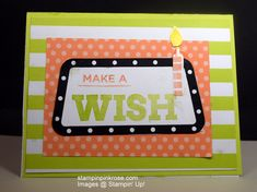 Stampin' Up! Birthday card made with BroadwayBirthdayand designed by Demo Pamela Sadler. You will be a star with this card as you help them celebrate their birthday. #birthdaycard #BroadwayBound #marqueecelebration #celebration #unisex card See more cards at stampinkrose.com and etsycardstrulyheart