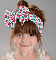 Naughty or Nice Big Bow Headwrap #Accessories #big-bow #Big-Bow-Headband