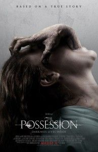 "What should a parent do when their child buys a sealed box, obviously not meant to be opened easily, at a yard sales and unleashes a demon who possesses her? Apparently give her lots of medical tests and call in a dozen rabbi's and a synagogue of Hasidim Jews according to the trailer for ""The Possession"".  This Jewish Exorcist get points for not bringing in the usual preach, pastor or voodoo queen.  ""The Possession"" opens wide August 31st."