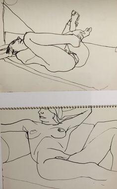 Kundst (Richard Diebenkorn (US 1922-1993) Sketchbook...)