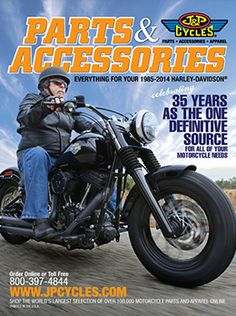 Free Motorcycle Parts Catalog for your Harley-Davidson