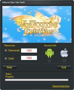 Valkyrie Epic War Hack (Diamonds&Gold)