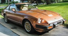 Datsun 280 ZX, ours was black with gold trim. A really fun car to drive. No back seat, so no place for a car seat. Courtney was on the way.